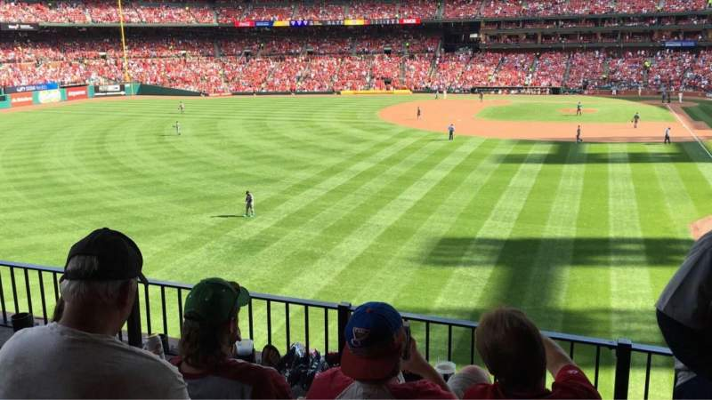 Seating view for Busch Stadium Section LP3 Row 4 Seat 8
