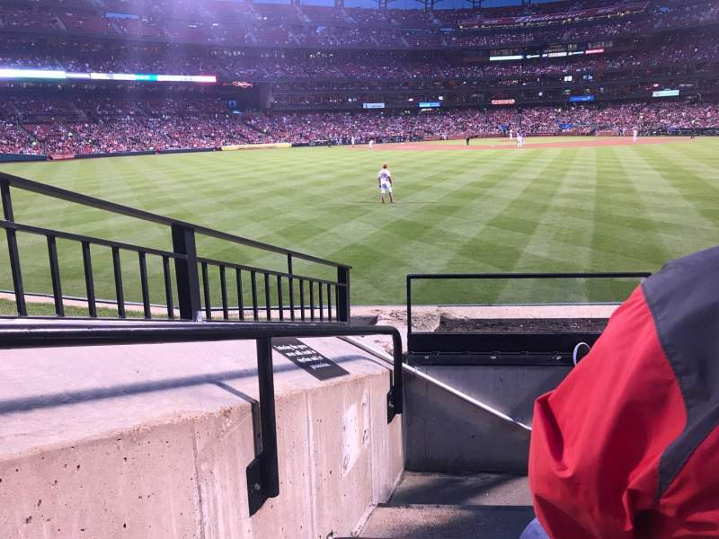 Seating view for Busch Stadium Section 197 Row 4 Seat 17