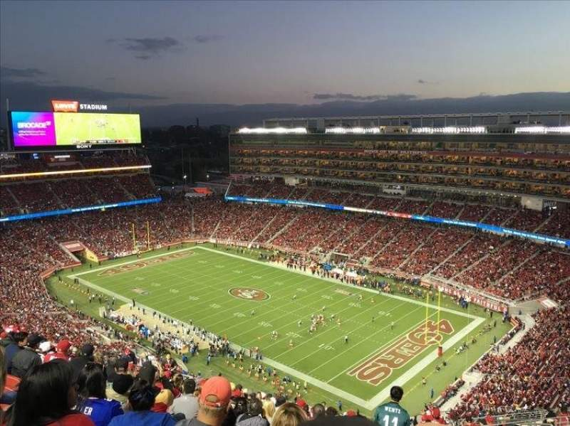 Seating view for Levi's Stadium