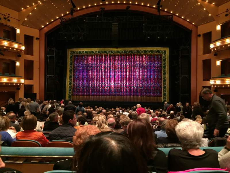 Seating view for Procter And Gamble Hall at the Aronoff Center Section Rear Orchestra C Row R Seat 213