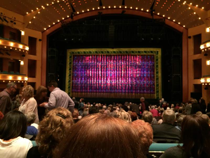 Seating view for Procter And Gamble Hall at the Aronoff Center Section Rear Orchestra C Row R Seat 212