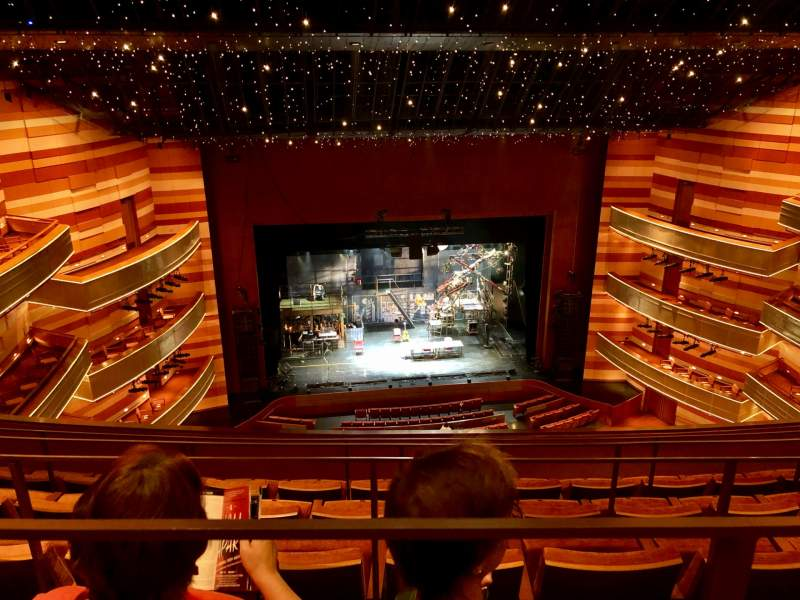 Seating view for Eccles Theater Section 3TL Row E Seat 22