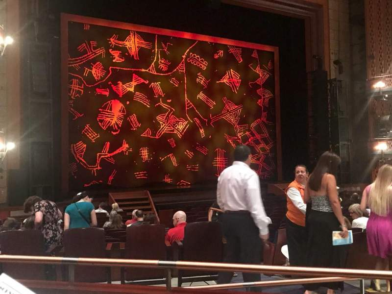 Walt Disney Theatre - Dr. Phillips Center, section: Orchestra left, row: R, seat: 11