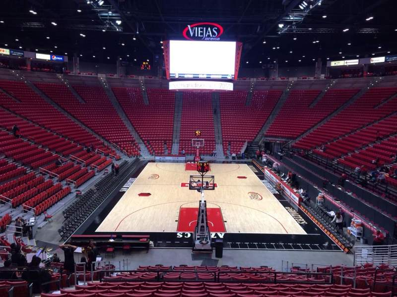 Seating view for Viejas Arena Section L Row 21 Seat 9