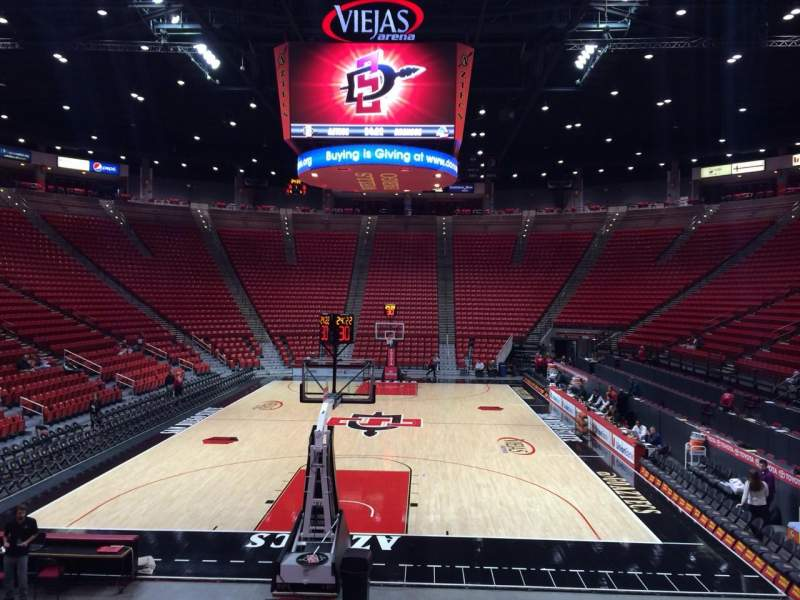 Seating view for Viejas Arena Section L Row 12 Seat 3