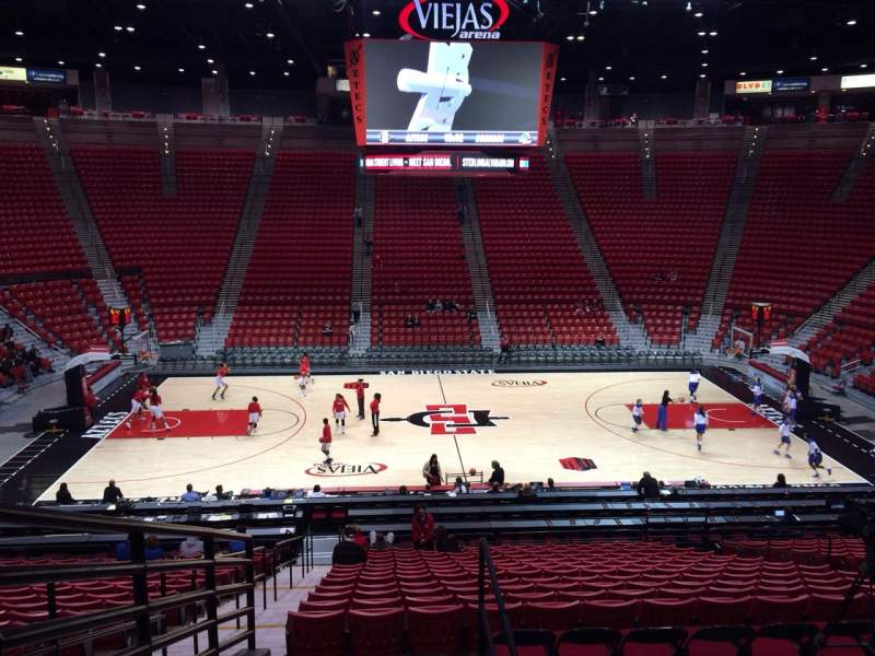 Seating view for Viejas Arena Section R Row 24 Seat 12
