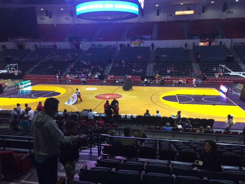 Seating view for Valley View Casino Center Section L24 Row 6 Seat 12