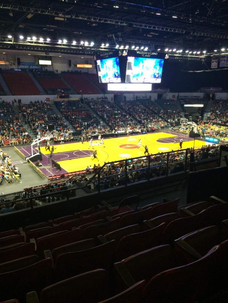 Valley View Casino Center, section: T16A, row: 7, seat: 6