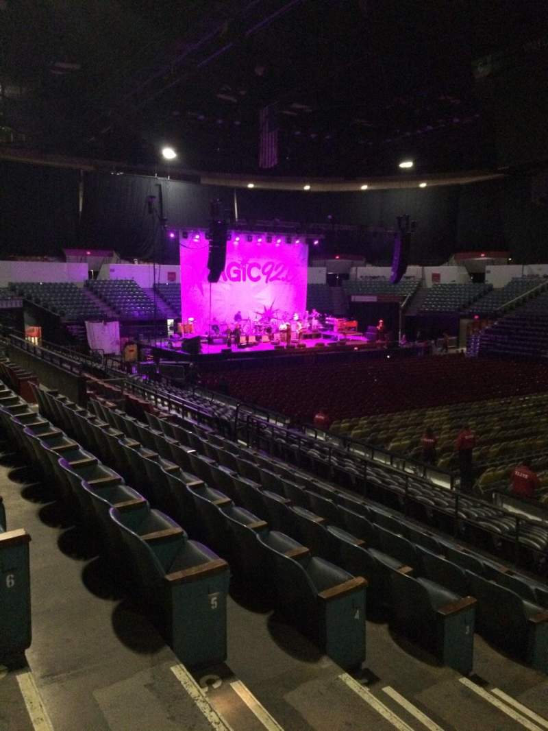 Seating view for Valley View Casino Center Section L23 Row 7 Seat 12