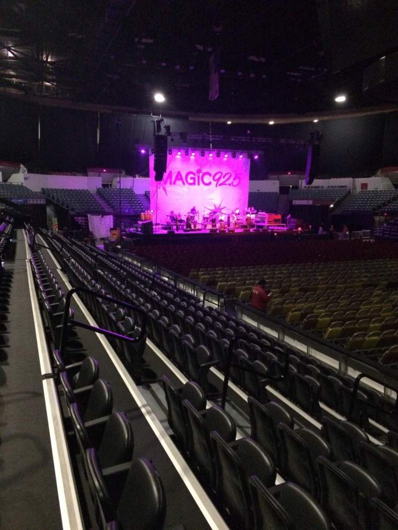 Seating view for Valley View Casino Center Section LL23 Row 7 Seat 7