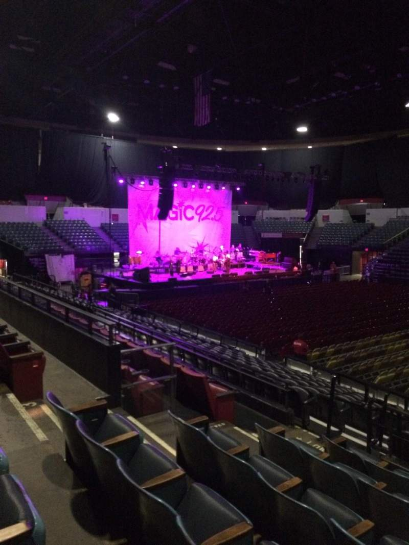 Seating view for Valley View Casino Center Section L24 Row 6 Seat 8