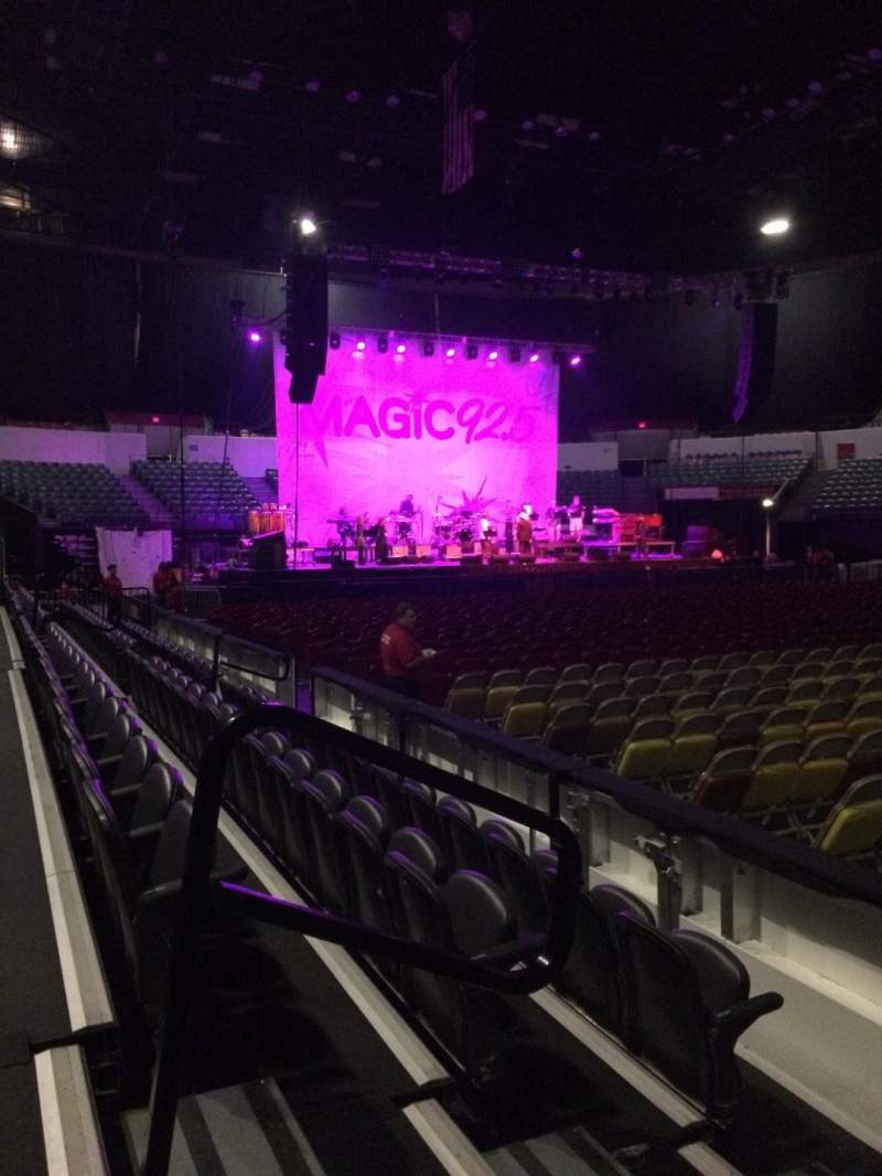 Seating view for Valley View Casino Center Section LL24 Row 4 Seat 12