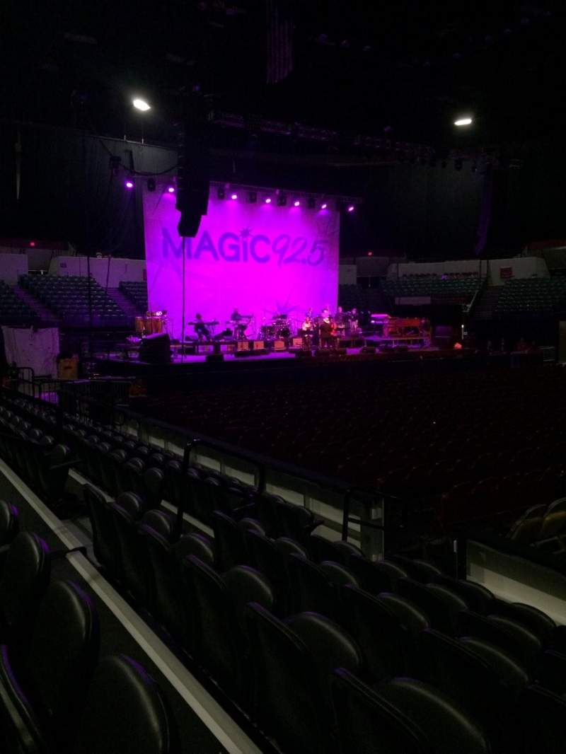 Seating view for Valley View Casino Center Section LL1 Row 6 Seat 6