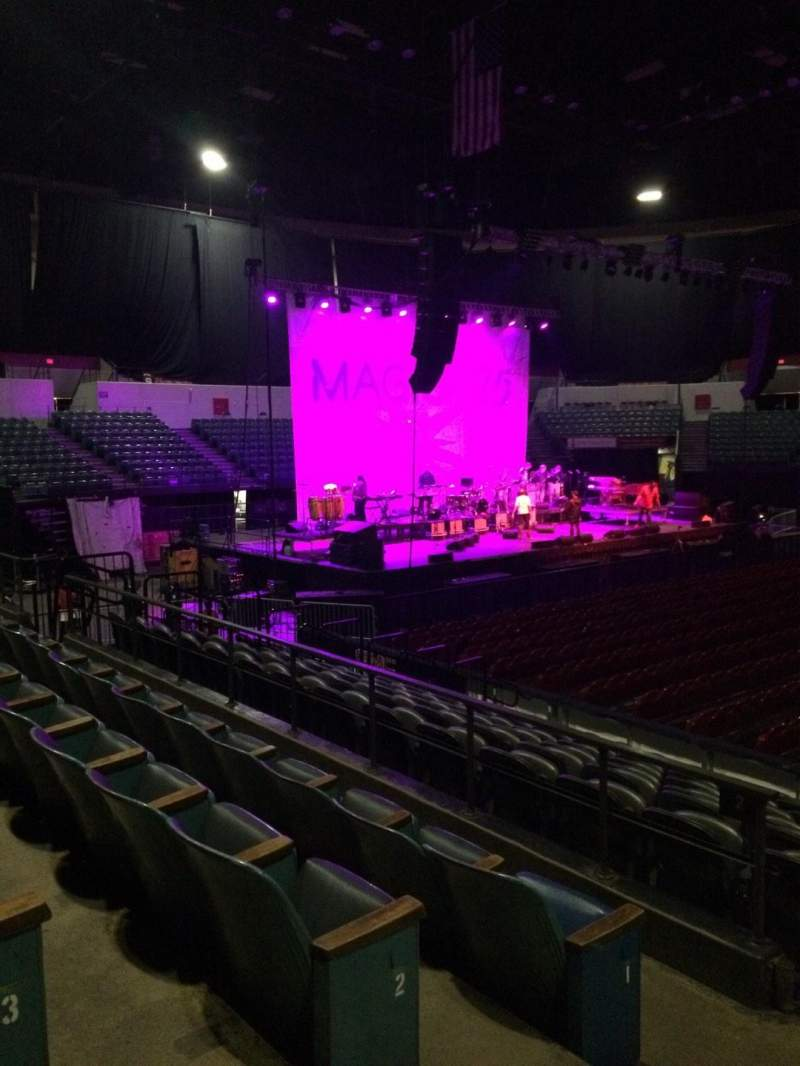 Seating view for Valley View Casino Center Section L1 Row 4 Seat 14