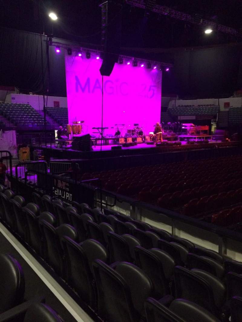 Seating view for Valley View Casino Center Section LL2 Row 6 Seat 4