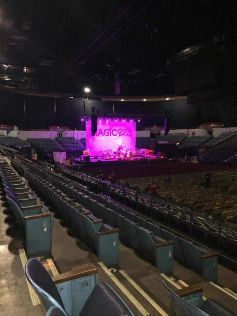 Seating view for Valley View Casino Center Section L22 Row 5 Seat 6