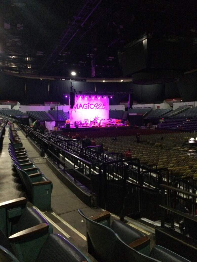 Valley View Casino Center, section: L21b, row: 3, seat: 5