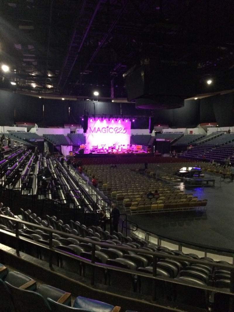 Valley View Casino Center, section: L21a, row: 4, seat: 2