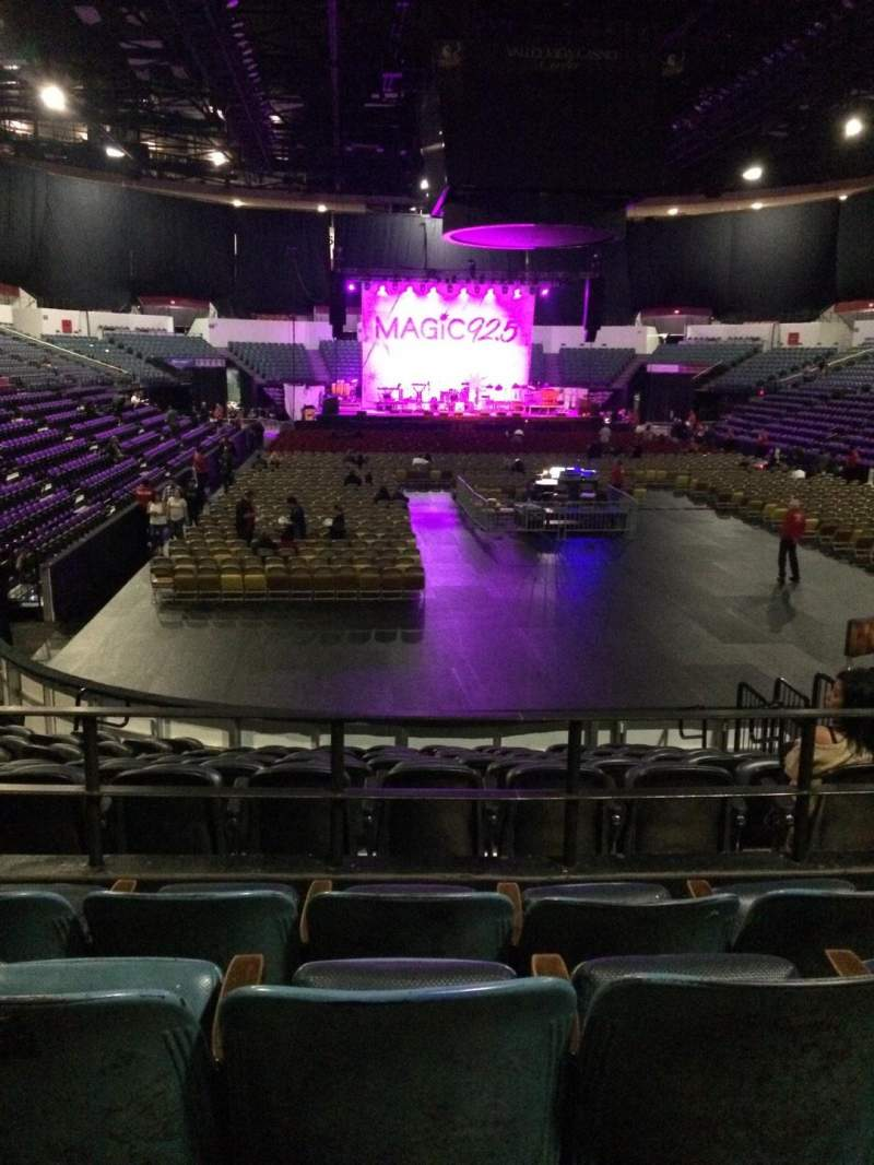 Seating view for Valley View Casino Center Section L20a Row 4 Seat 6