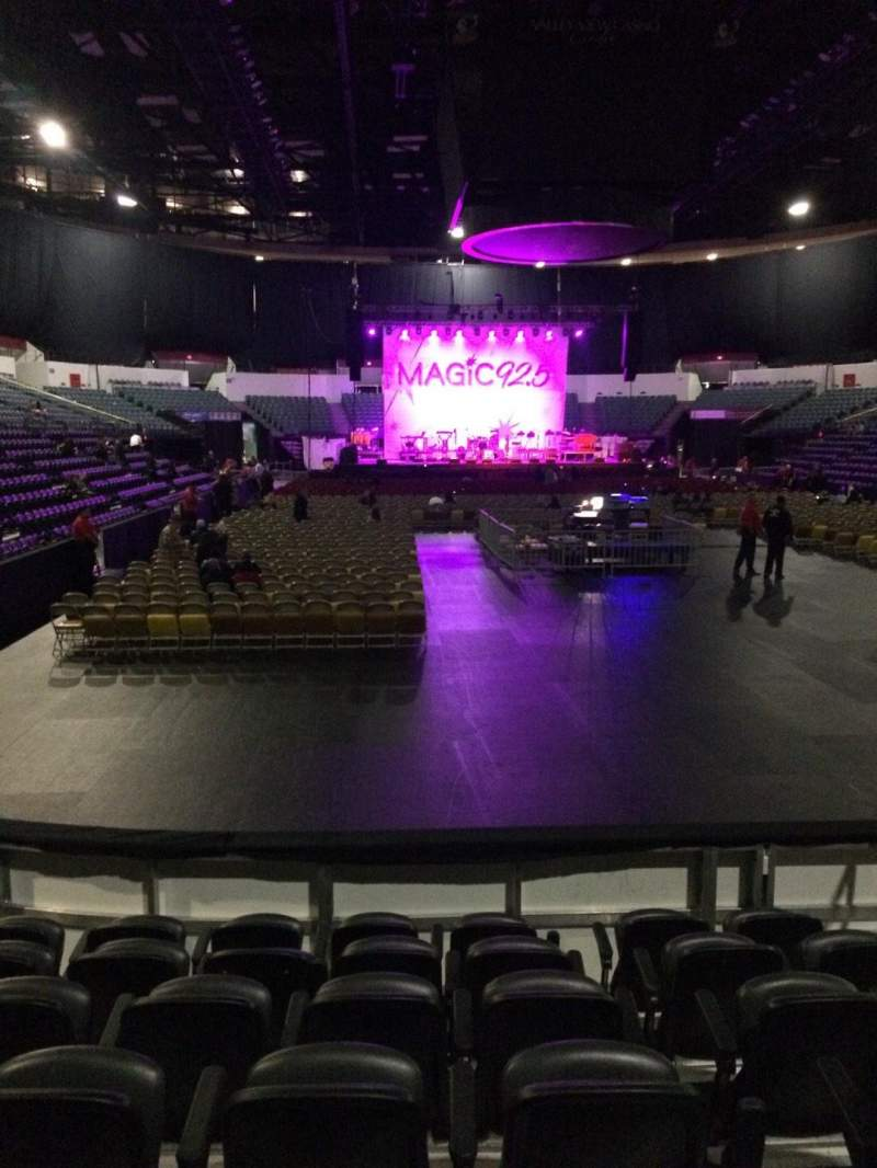Seating view for Valley View Casino Center Section LL20 Row 7 Seat 4