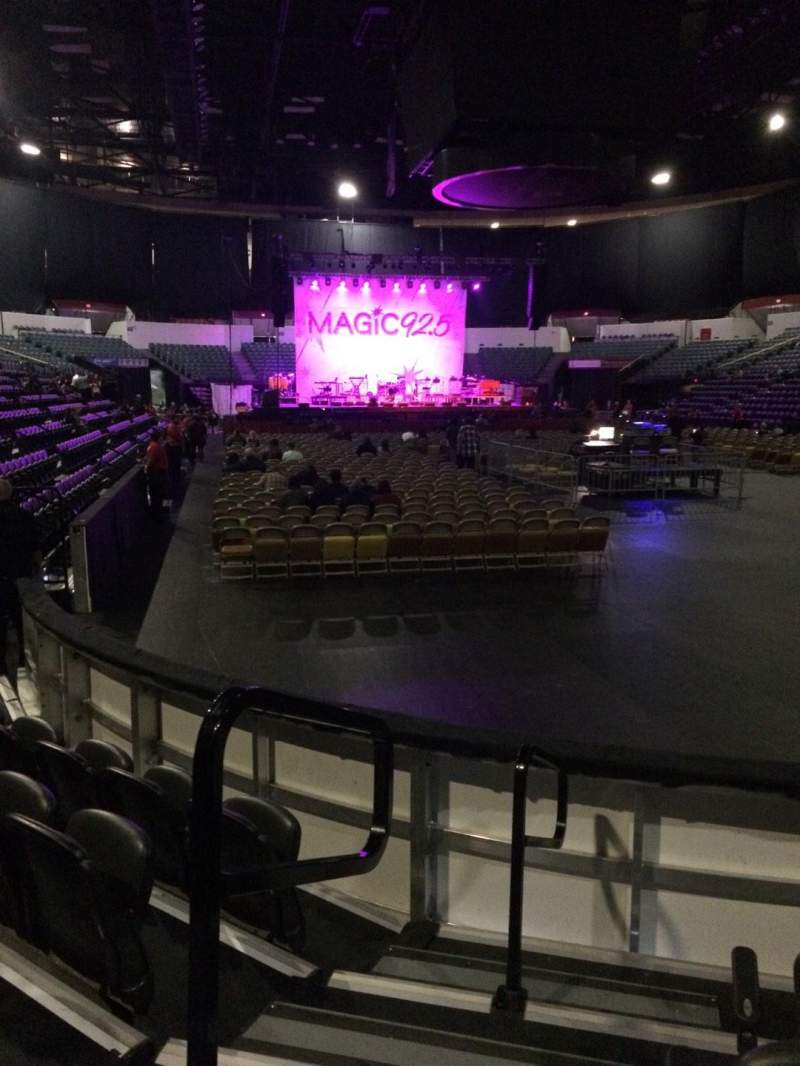 Seating view for Valley View Casino Center Section LL20 Row 5 Seat 13