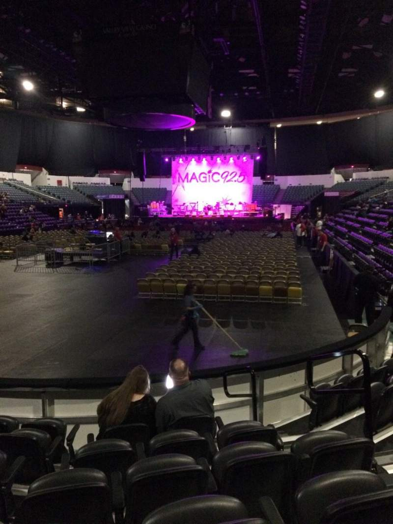 Seating view for Valley View Casino Center Section LL18 Row 7 Seat 5
