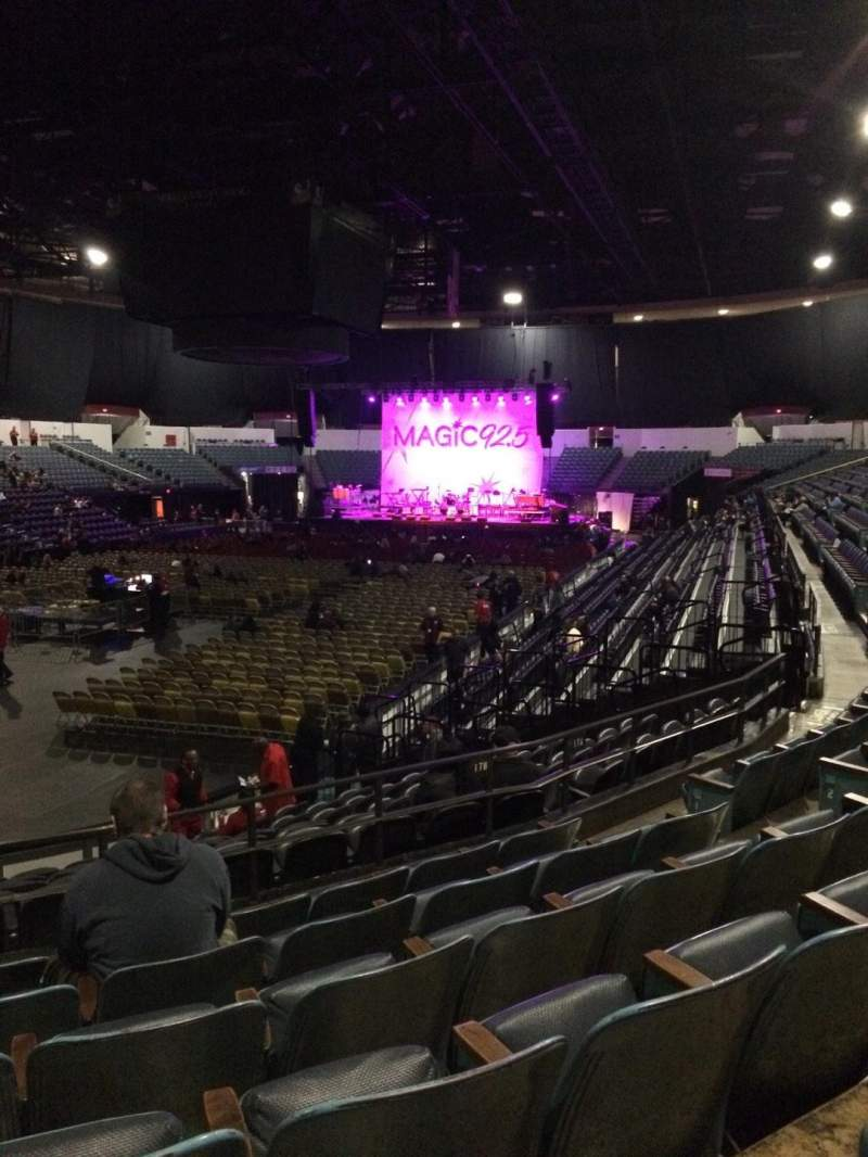 Seating view for Valley View Casino Center Section L17b Row 6 Seat 8