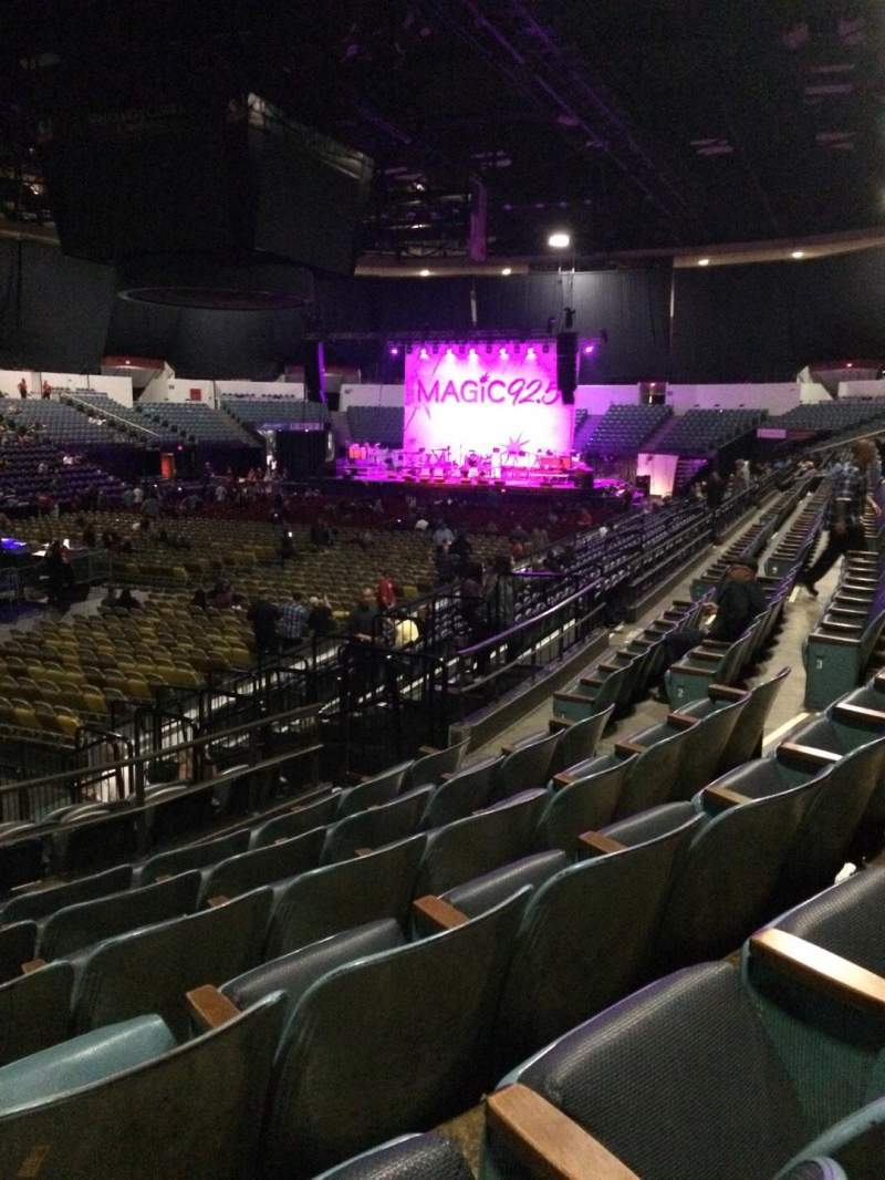 Seating view for Valley View Casino Center Section L17a Row 6 Seat 11