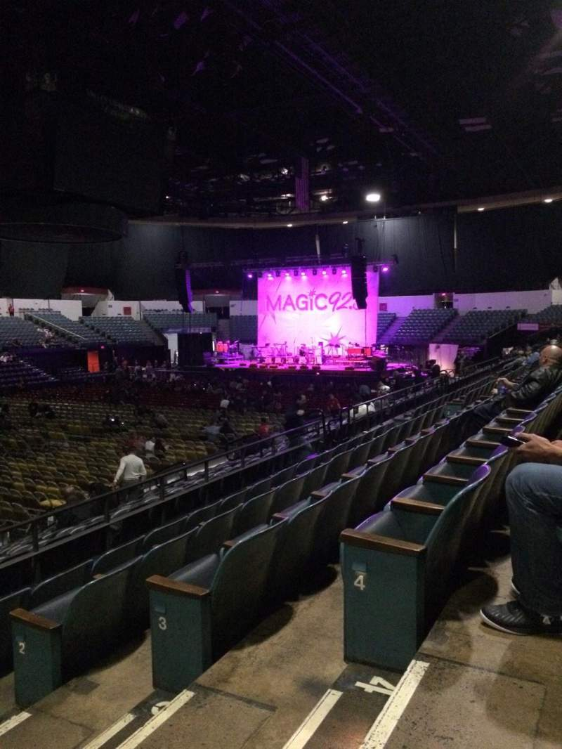 Seating view for Valley View Casino Center Section L16 Row 5 Seat 2