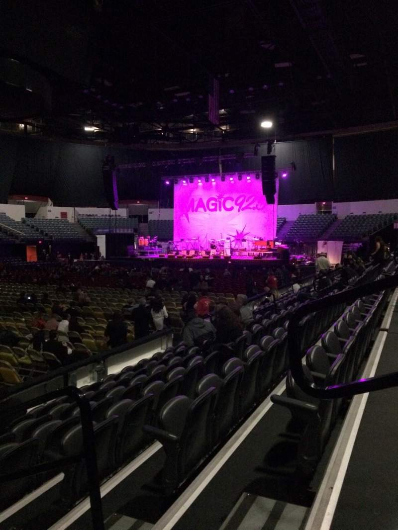 Seating view for Valley View Casino Center Section LL15 Row 7 Seat 3