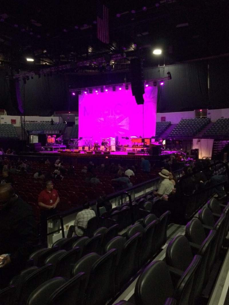 Seating view for Valley View Casino Center Section LL13 Row 6 Seat 8