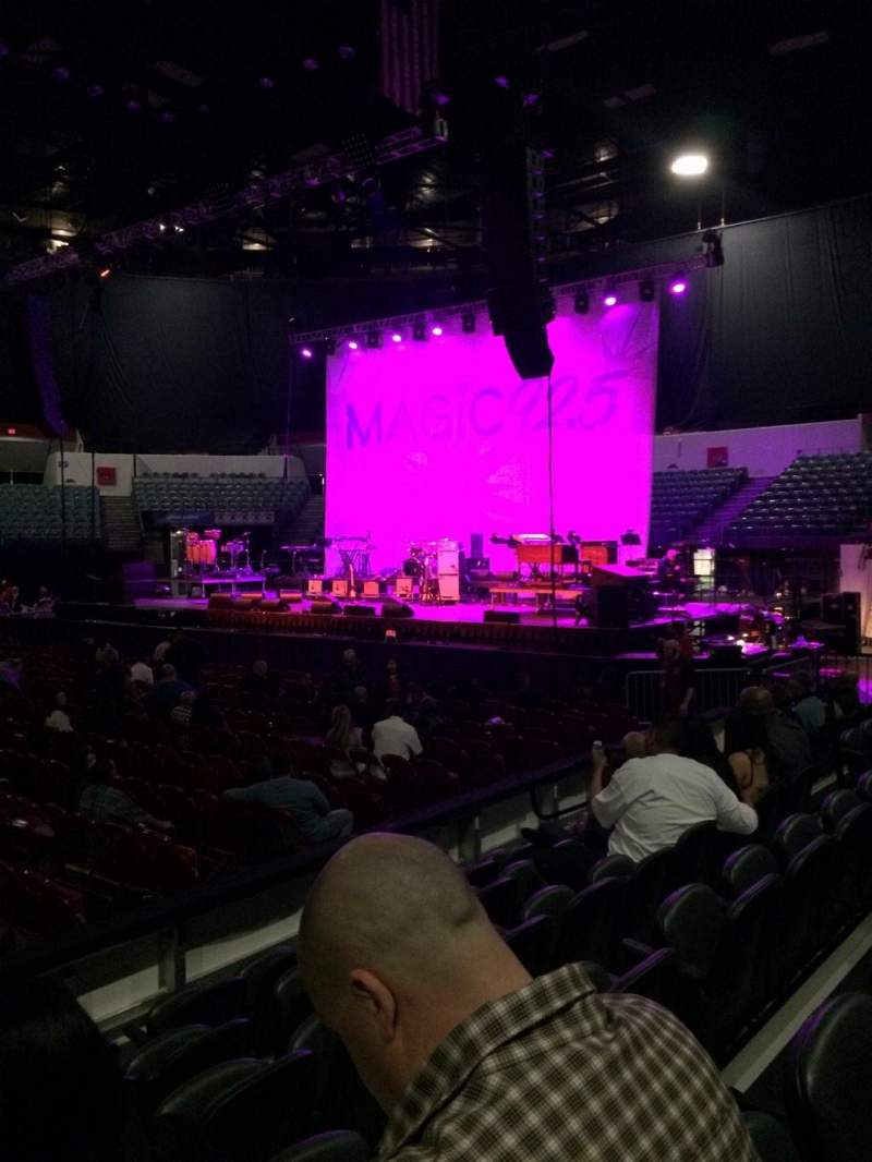 Seating view for Valley View Casino Center Section LL12 Row 6 Seat 13