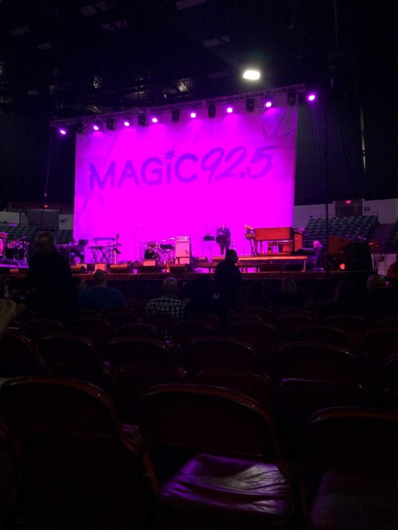 Seating view for Valley View Casino Center Section C Row 9
