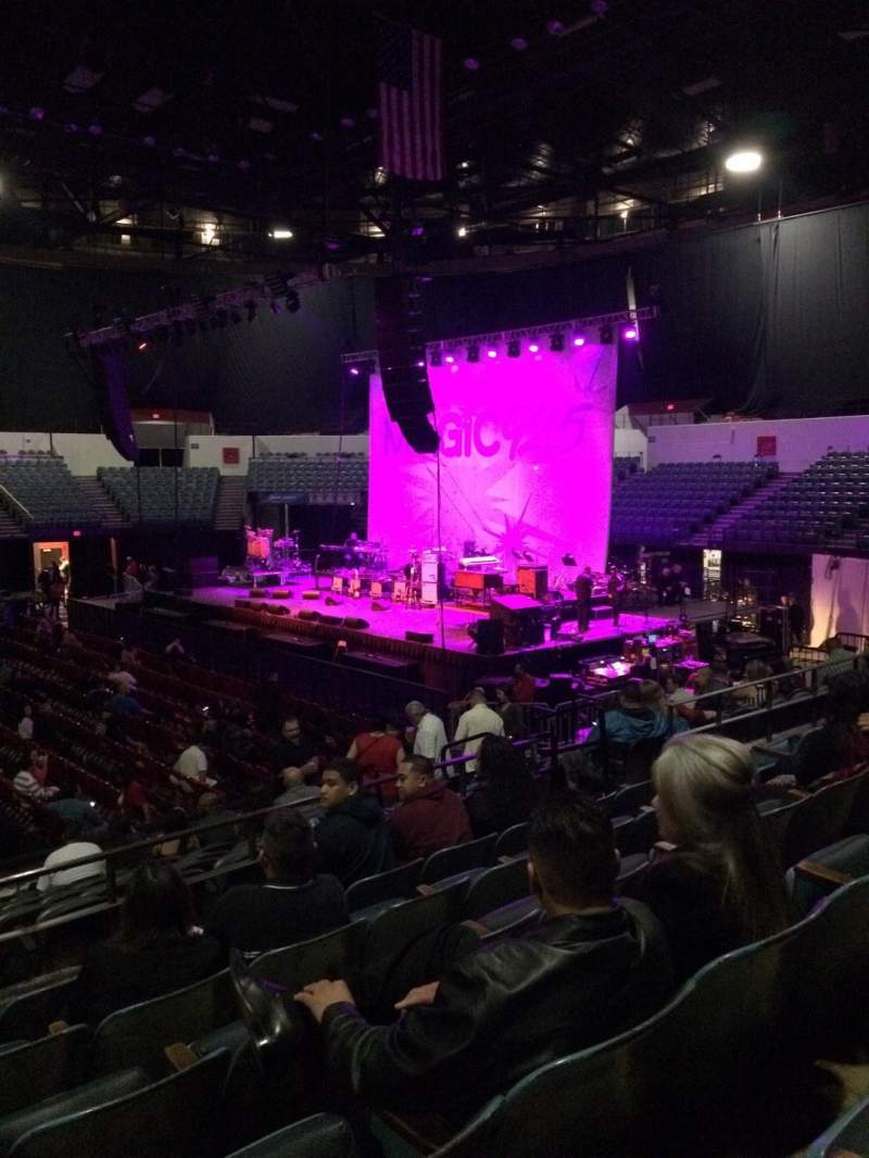Seating view for Valley View Casino Center Section L12 Row 6 Seat 11