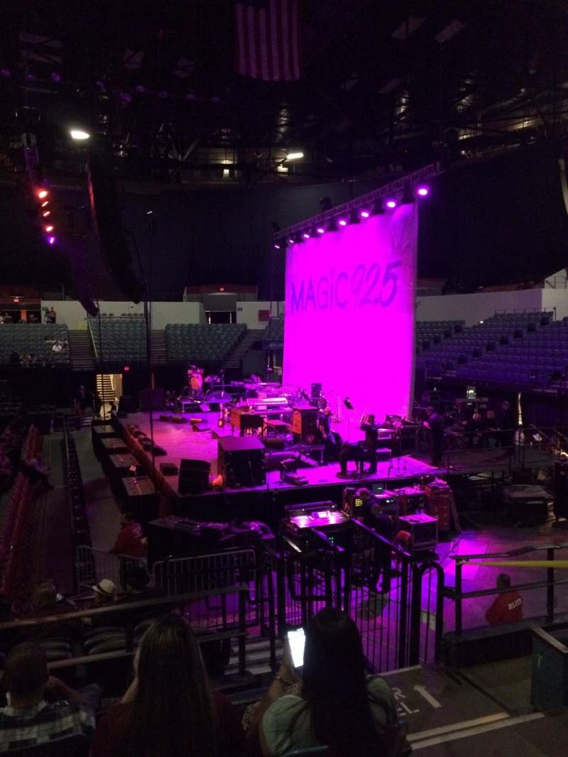 Seating view for Valley View Casino Center Section L11 Row 5 Seat 3