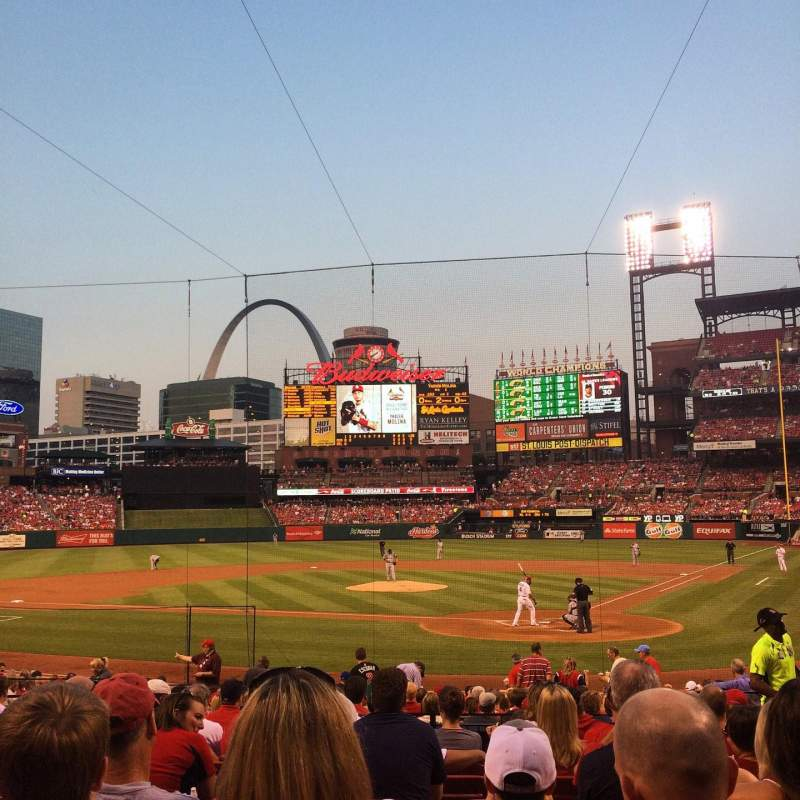 Seating view for Busch Stadium Section 152 Row 10 Seat 6