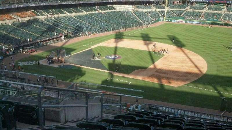 Seating view for Comerica Park Section 218 Row 10 Seat 20