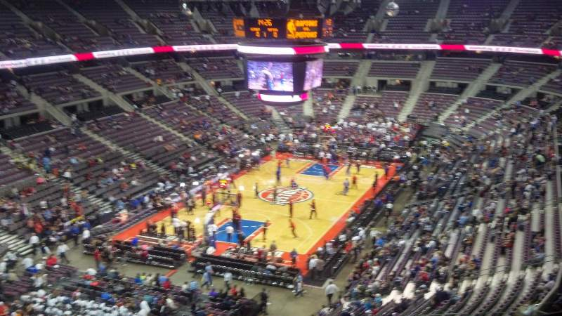 Seating view for The Palace of Auburn Hills Section 206 Row 9 Seat 12