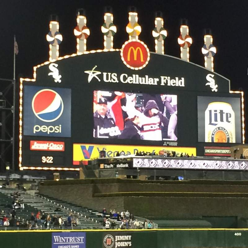 Seating view for Guaranteed Rate Field Section 146 Row 4 Seat 6