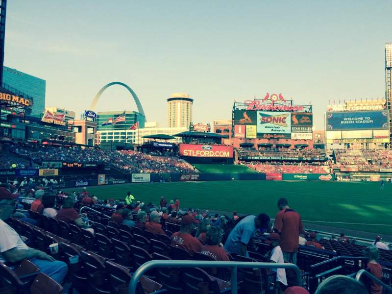 Seating view for Busch Stadium Section 162 Row 7 Seat 10