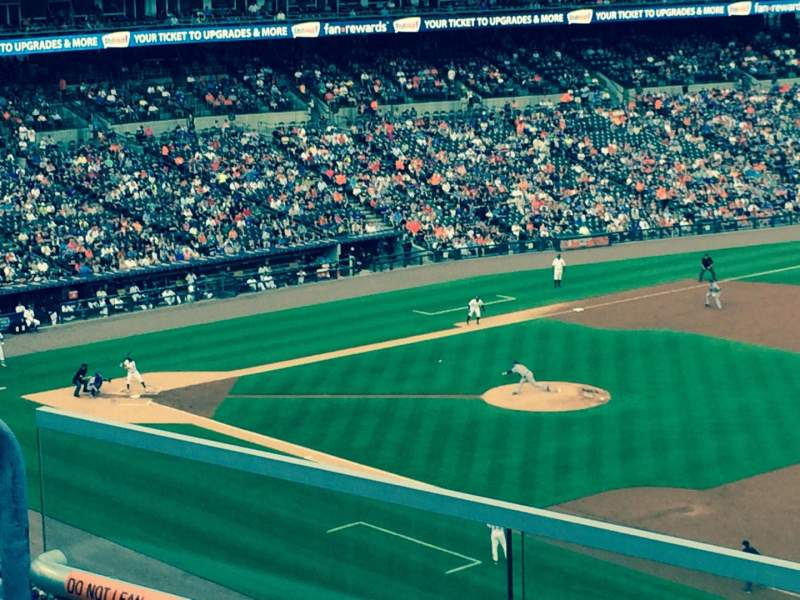 Seating view for Comerica Park Section 216 Row 3 Seat 23