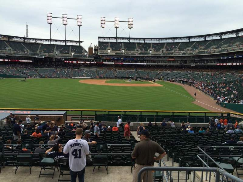 Seating view for Comerica Park Section 149 Row DD Seat 4