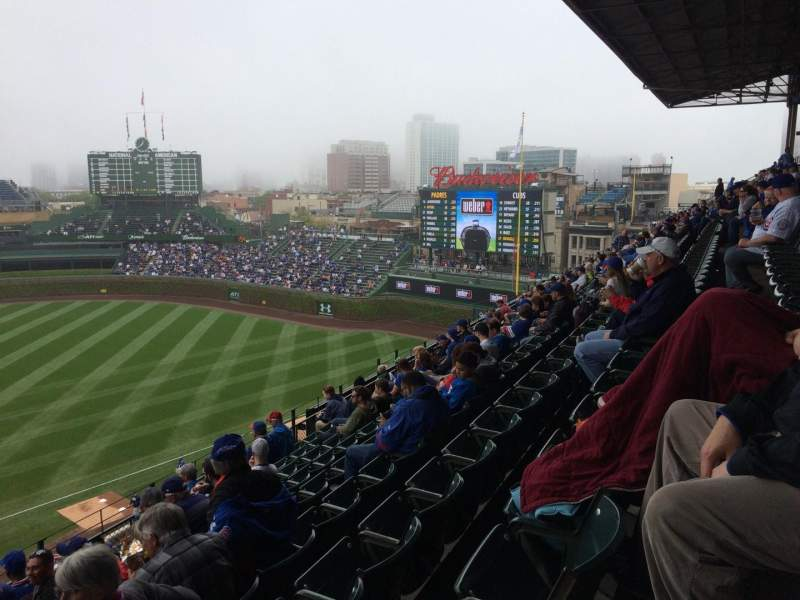 Seating view for Wrigley Field Section 324R Row 9 Seat 23