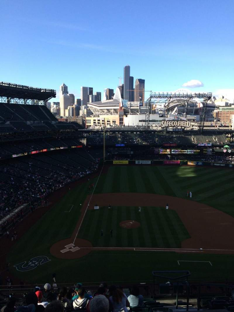 T Mobile Park Section 325 Row 10 Seat 4 Seattle Mariners Vs