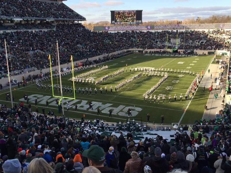 Seating view for Spartan Stadium Section 14 Row 56 Seat 24