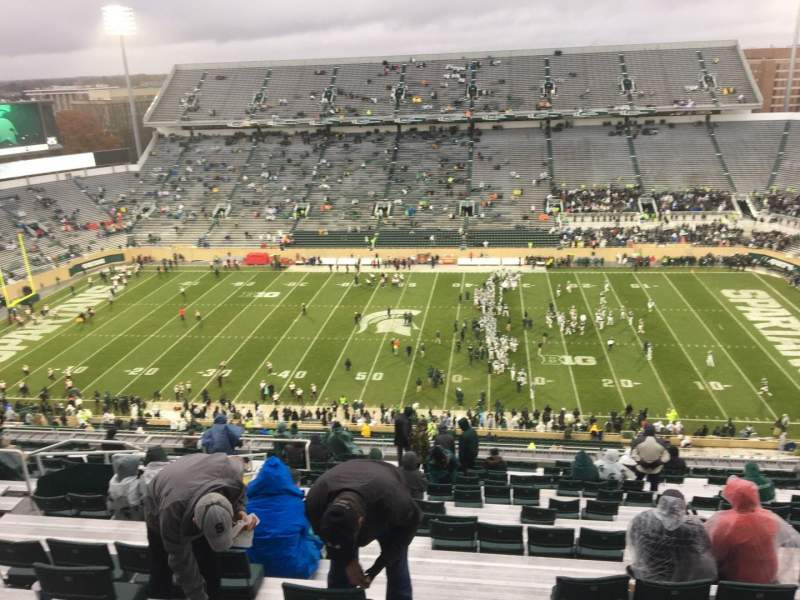 Seating view for Spartan Stadium Section 123 Row 28 Seat 10