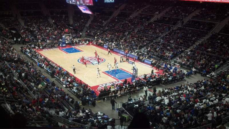 Seating view for The Palace of Auburn Hills Section 226 Row 10 Seat 2