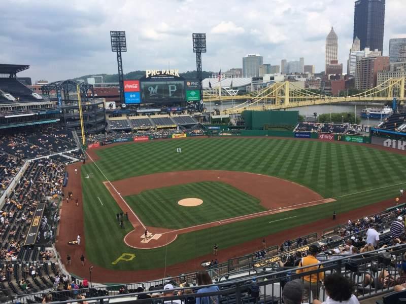 PNC Park, section: 313, row: H, seat: 18
