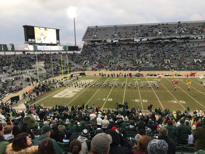 Seating view for Spartan Stadium Section 25 Row 45 Seat 28