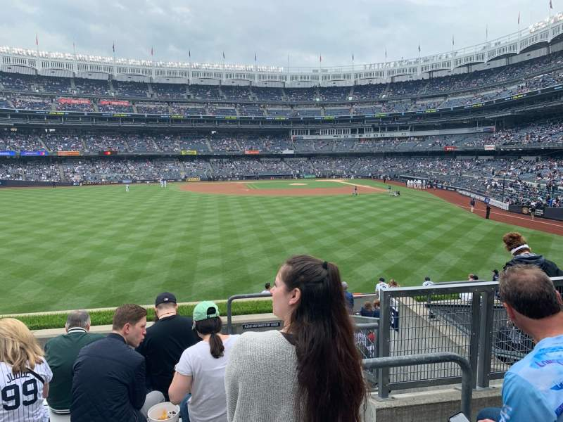 Seating view for Yankee Stadium Section 236 Row 7